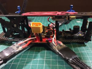 Alien 6 Mini Quad build 24