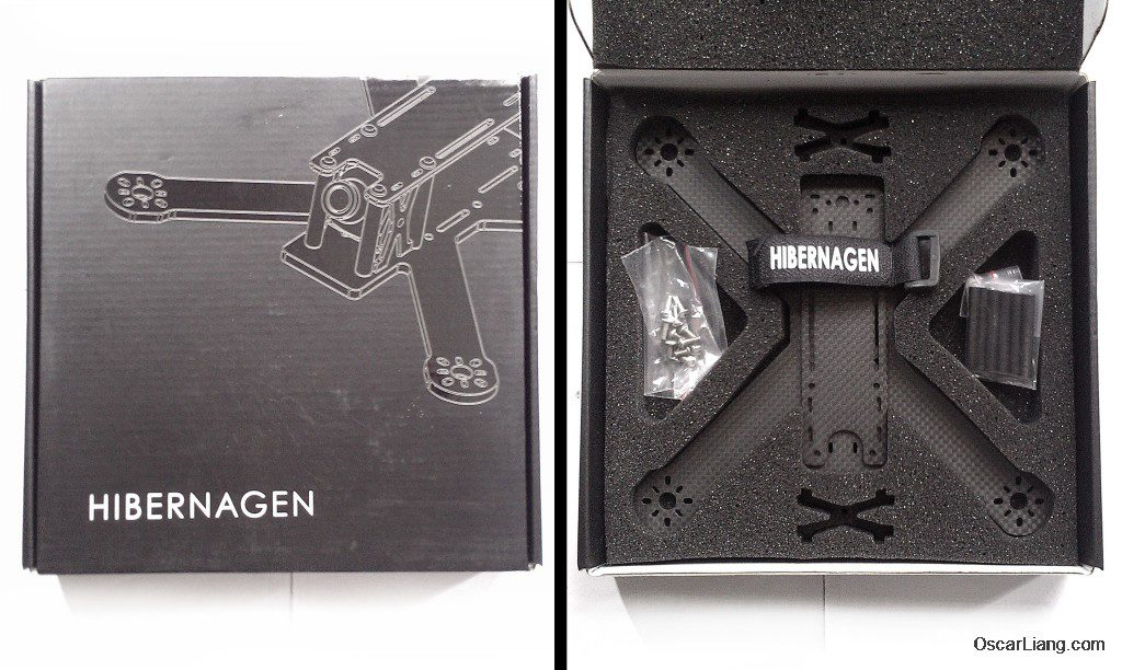 Hibernagen Menel X 5 Mini Quad frame unbox