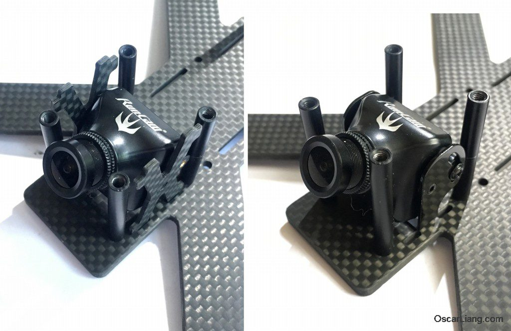 Hibernagen Menel X 5 mini quad frame camera mounting option