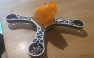 RaGG-e WBX 5 Mini Quad build Prototype Camera Gaurd