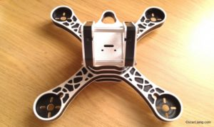 RaGG-e WBX 5 Mini Quad frame assembly 5
