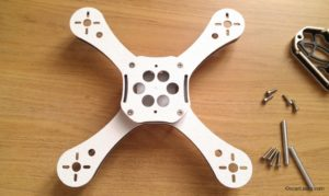 RaGG-e WBX 5 Mini Quad frame assembly bottom