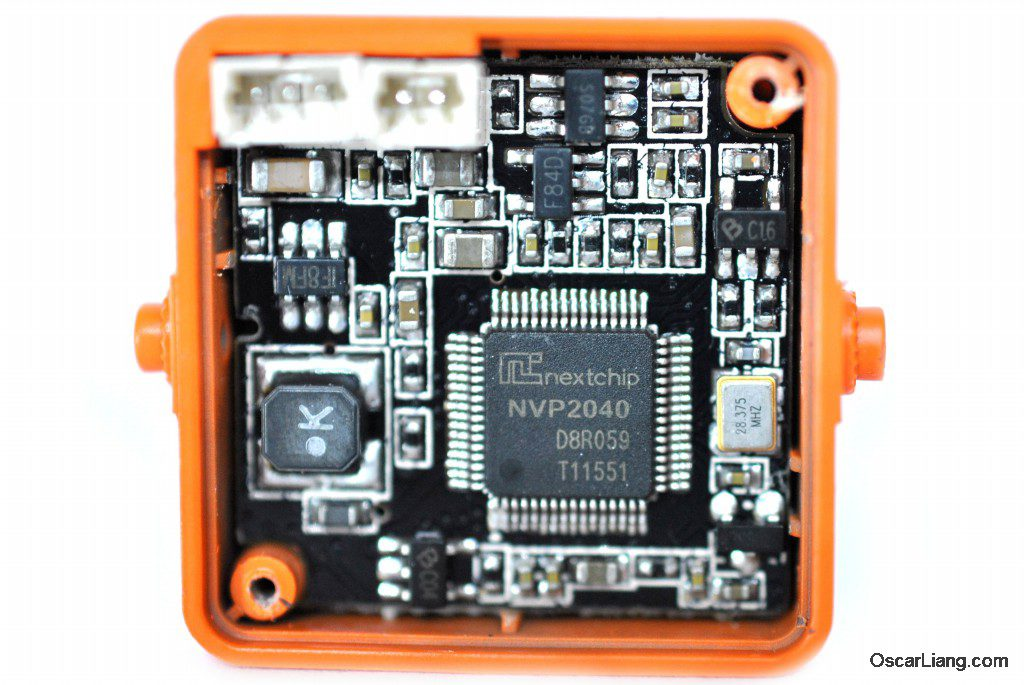 RunCam Owl Plus FPV camera PCB processor chip inside take apart