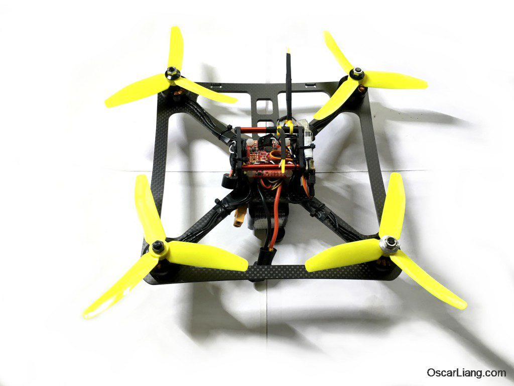banggood 230 durable mini quad LOS build finish 1