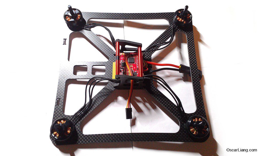 banggood 230 durable mini quad LOS build finish electronics