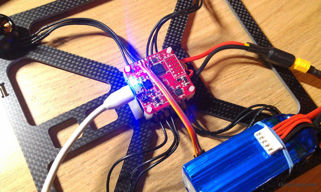 banggood 230 durable mini quad LOS build littlebee 20a pro 4in1 ESC flash firmware config