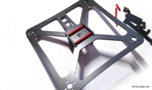 banggood 230 durable mini quad frame assemble bottom