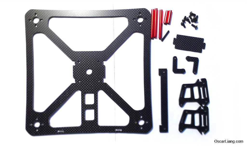 banggood 230 durable mini quad frame parts