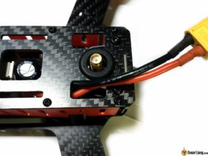 DYS Lightning X220 fpv race mini quad battery lead