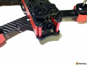 DYS Lightning X220 fpv race mini quad camera