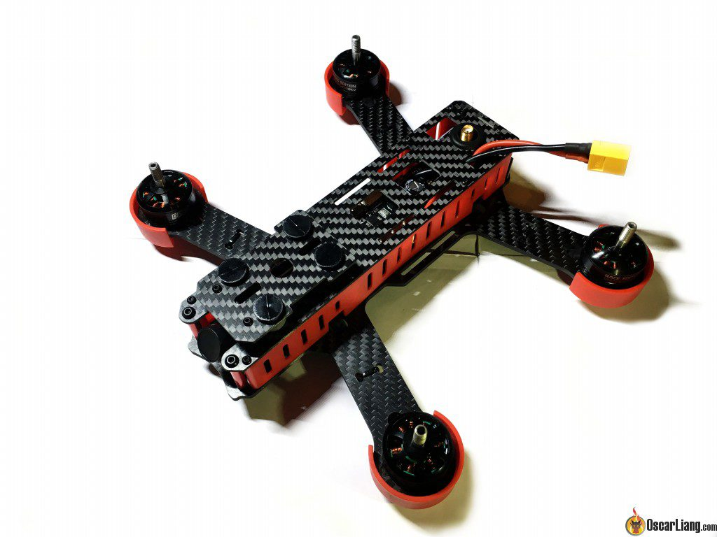 DYS Lightning X220 fpv race mini quad feature