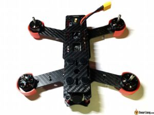 DYS Lightning X220 fpv race mini quad top