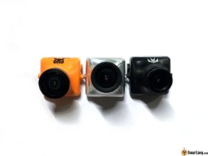 Runcam Eagle FPV camera lens comparing to swift owl plus