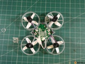 Tiny Whoop Micro Drone back flight controller board motor connectors