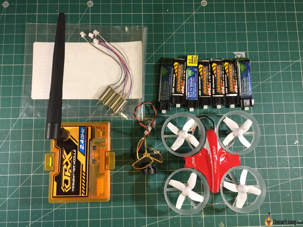 Building A Tiny Whoop Micro Drone Oscar Liang Hubsan Wiring Diagram Parts