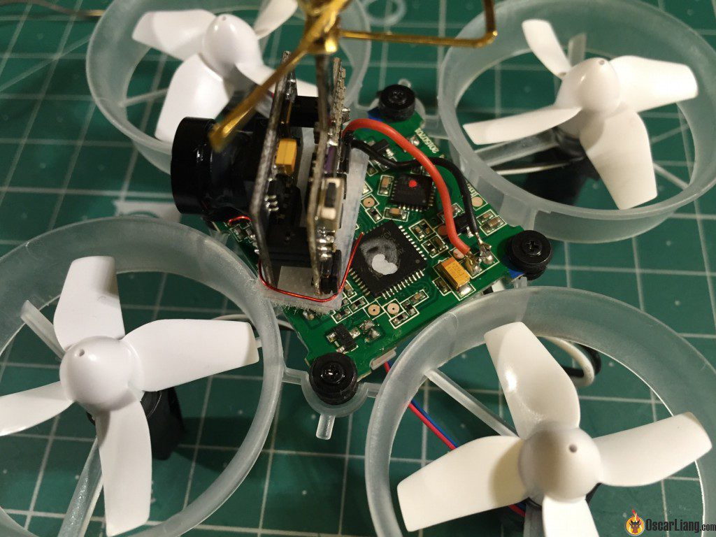 Tiny Whoop Micro Drone solder fpv setup on FC