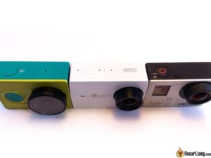 Xiaomi-yi-4k camera compare old gopro top