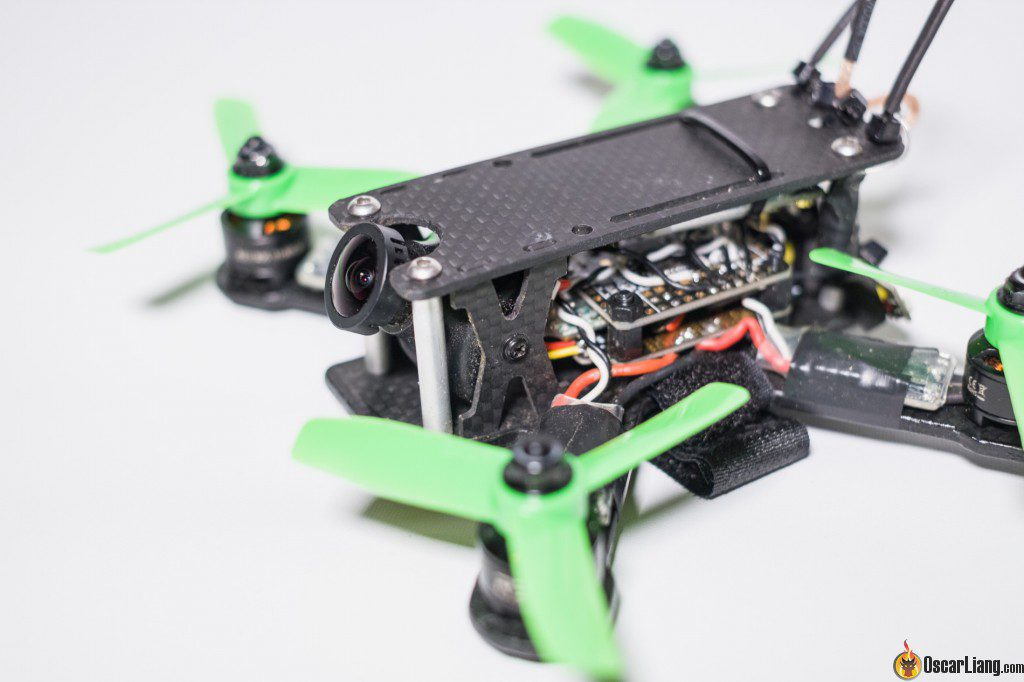 hibernagen menel X 3 inch mini quad frame build fpv camera