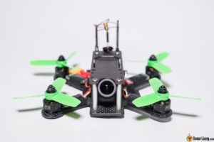 hibernagen menel X 3 inch mini quad frame build front