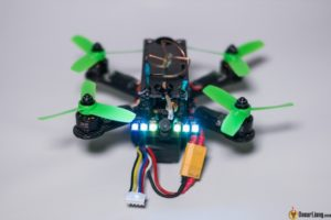 hibernagen menel X 3 inch mini quad frame build led buzzer
