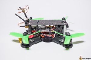 hibernagen menel X 3 inch mini quad frame build side