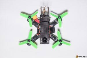 hibernagen menel X 3 inch mini quad frame build top