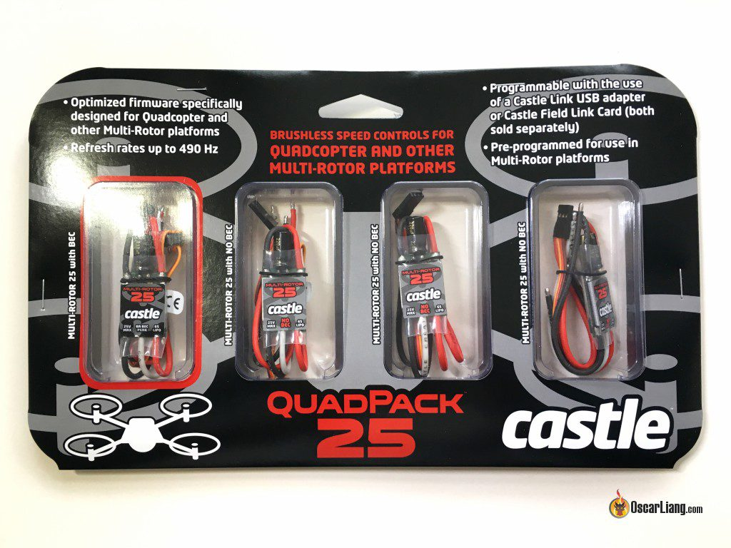 Castle Creations Quadpack 25 ESC package