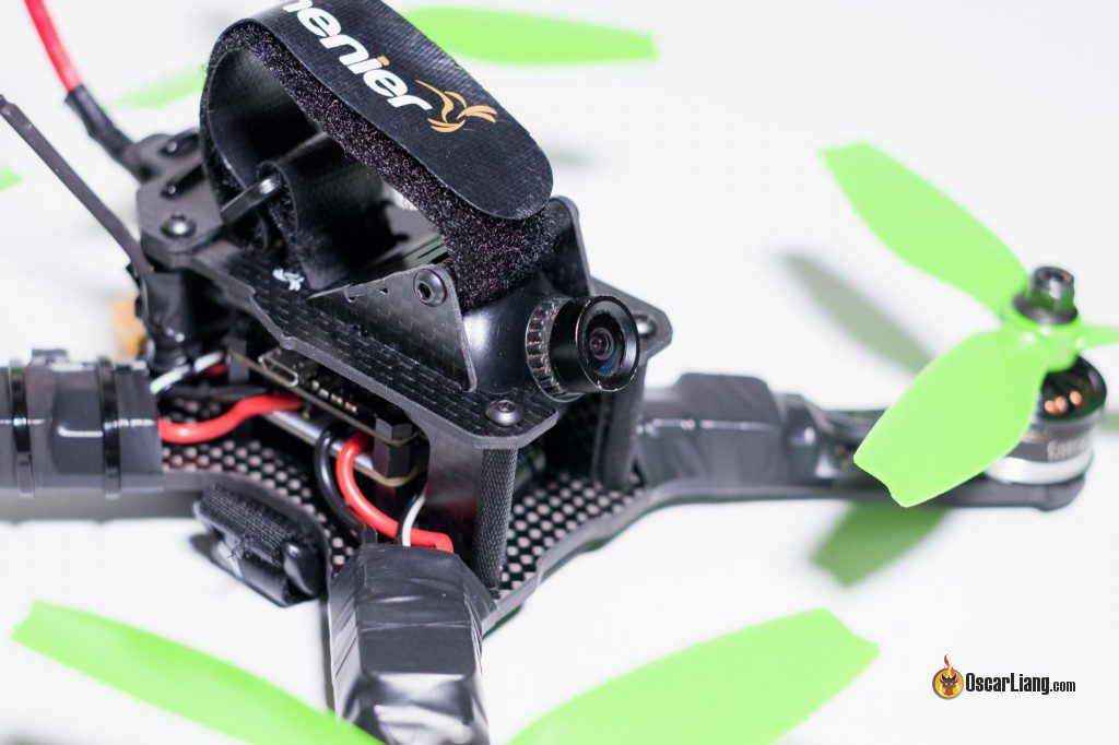 QAV-X Mini Quad Frame build angle