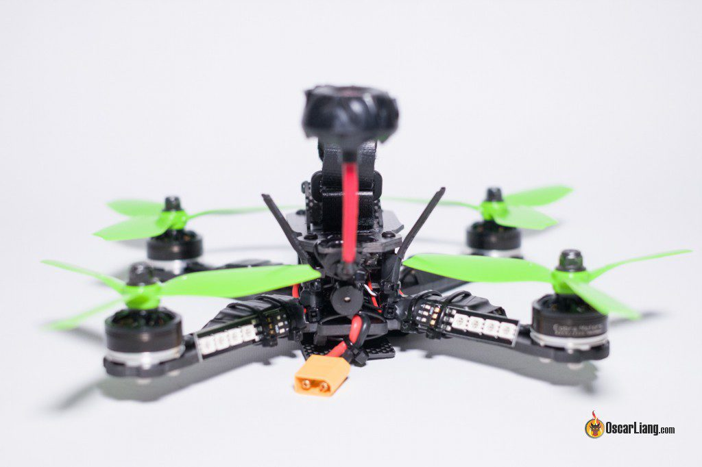 QAV-X Mini Quad Frame build back led