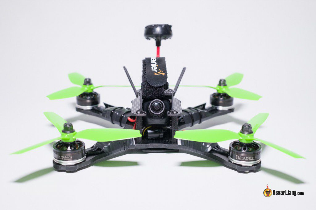 QAV-X Mini Quad Frame build front