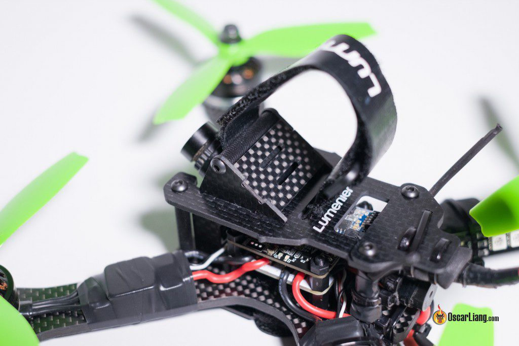 QAV-X Mini Quad Frame build gopro mount
