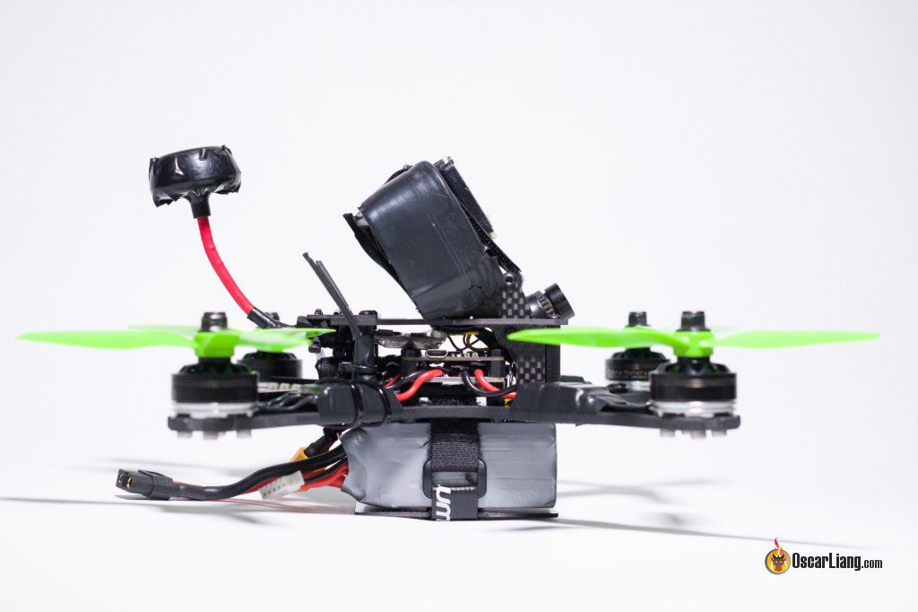 QAV-X Mini Quad Frame build side