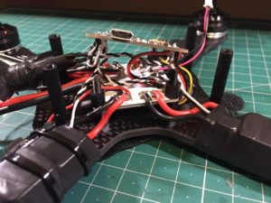 QAV-X Mini Quad Frame build solder esc signal on fc