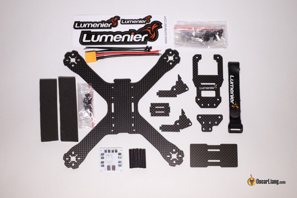 QAV-X Mini Quad Frame parts