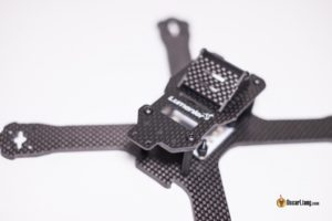 QAV-X Mini Quad Frame top plate cut-out