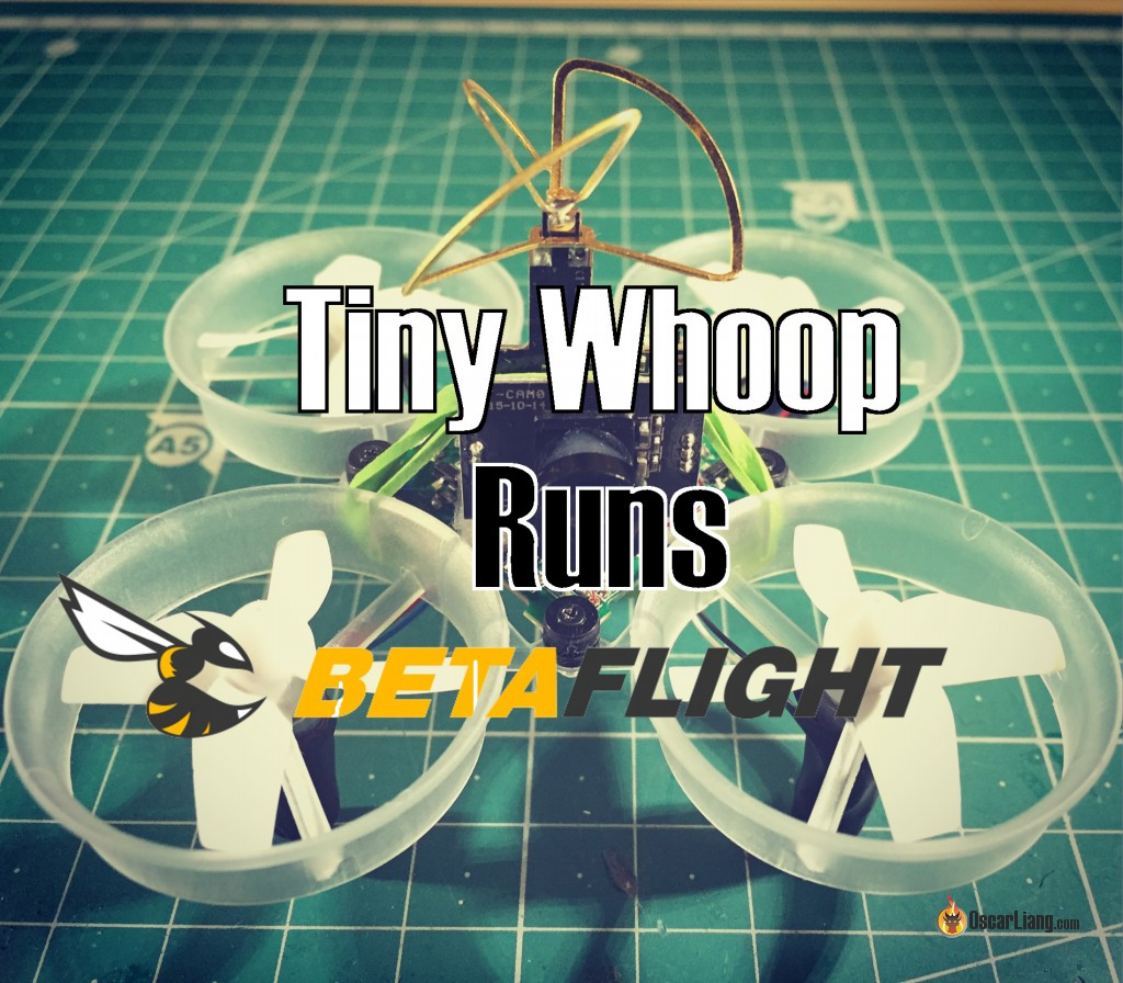 Can tiny whoop run betaflight or cleanflight oscar liang for Lumenier tiny whoop motors