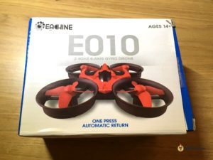 eachine E010 inductrix tiny whoop micro quad box
