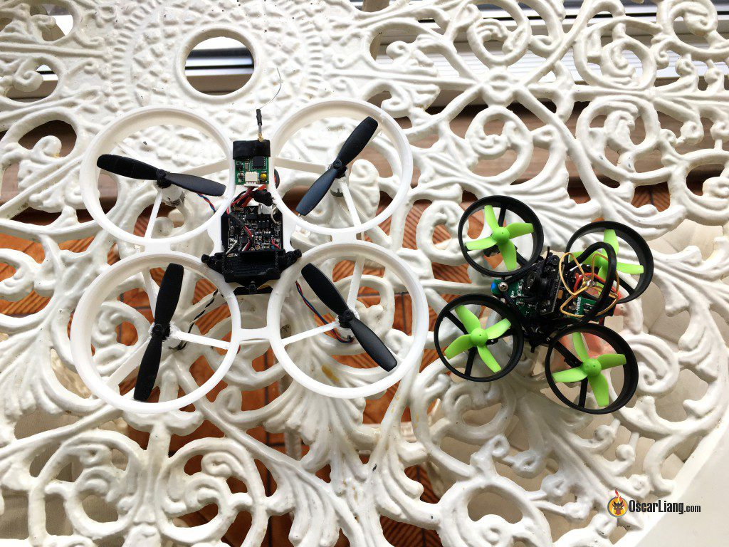 eachine E010 inductrix tiny whoop micro quad compare whoopee