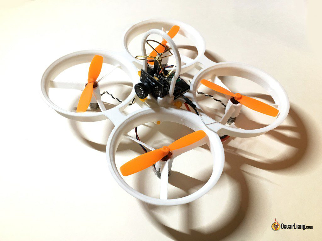 whoopee-tiny-whoop-inductrix-8.5mm-brushed-micro-quad-frame-lulfro build