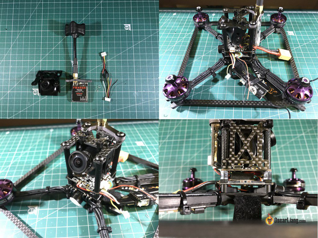 QAV-ULX Mini Quad Frame Build and Review - Oscar Liang
