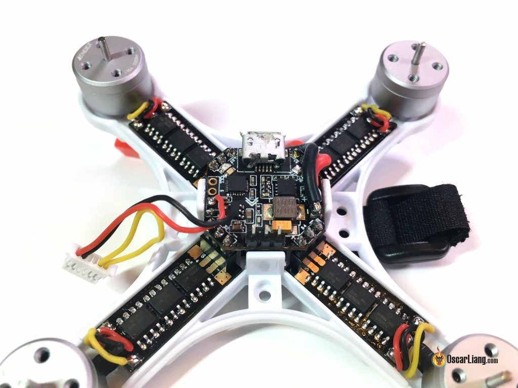 Review Emax Babyhawk 85mm Brushless Micro Quad Oscar Liang Motorcycle Wiring Diagrams R90 85 Electronics Components