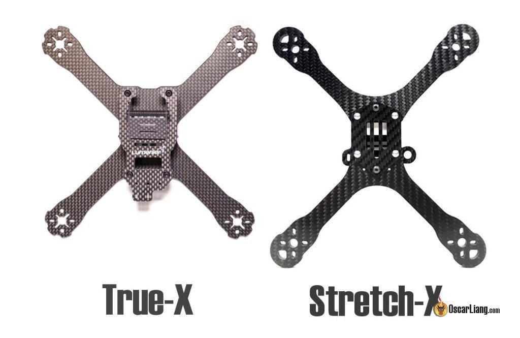 True-X and Stretch-X mini quad frame style