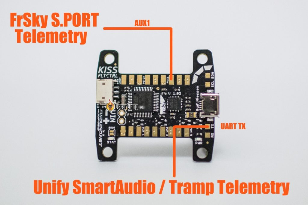 Smart Port, KISS FC, Tramp telemetry, unify Smartaudio connection