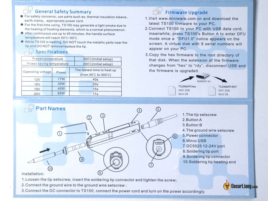 Usb Power Adaptor Wiring Diagram 2 Review Ts100 Soldering Iron Best Portable Field Repairing Tool Manual Https Cdnshopifycom S Files 1 0948 3076 Instruction Manualpdf188285643864339764