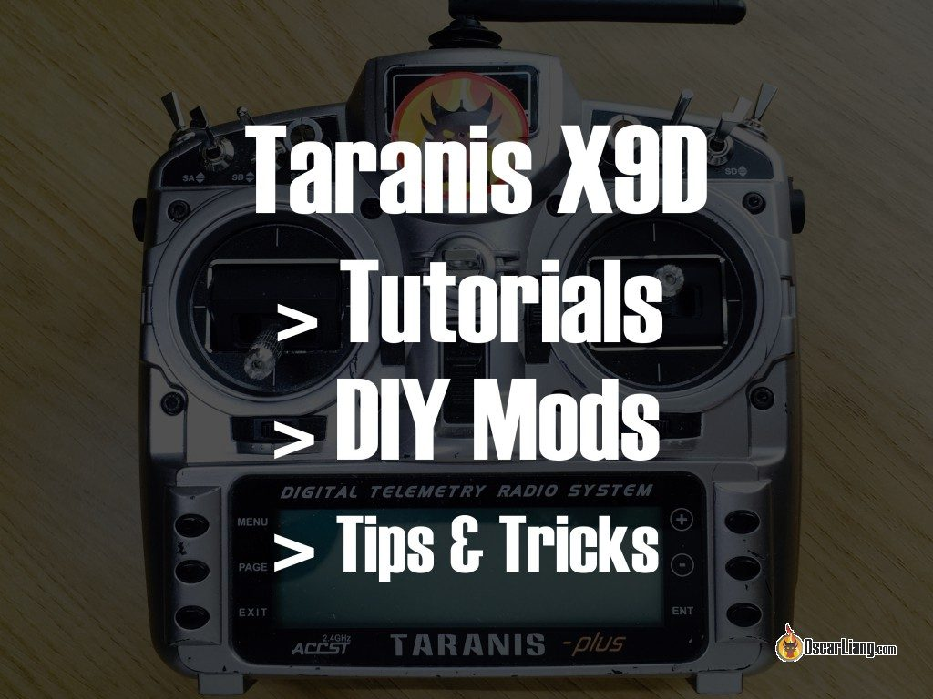 Frsky Taranis X9d Hacks Mods And Tutorials Oscar Liang Diy Led Camera