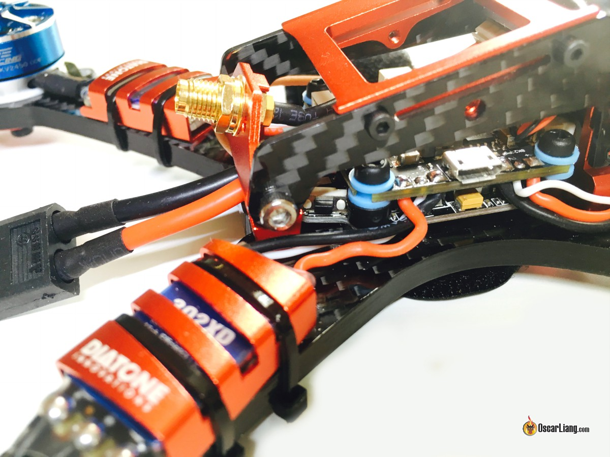Review Diatone Gt 2017 Racing Drone Mini Quad Oscar Liang Car Parts Electrical Ponents Wires Cabling Closer Look At The