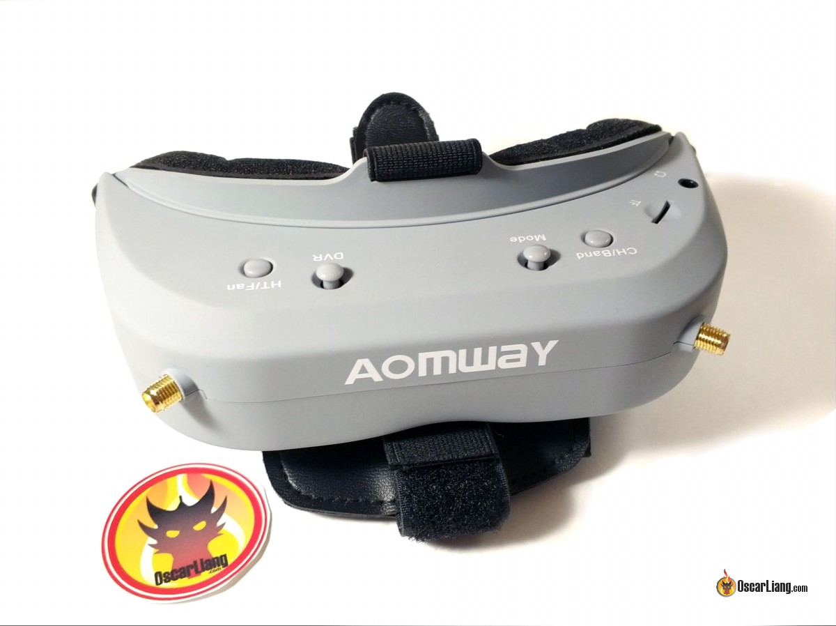 Review: Aomway Commander V1 FPV Goggles - Oscar Liang