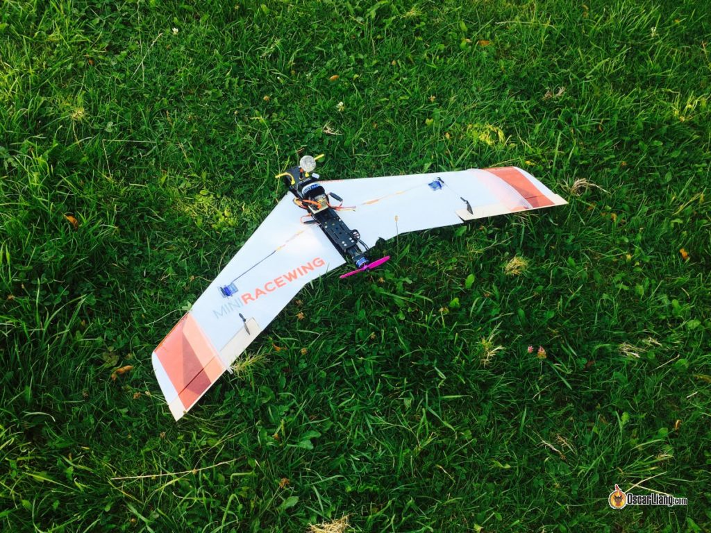 Building my first Mini Race Wing for FPV - Oscar Liang