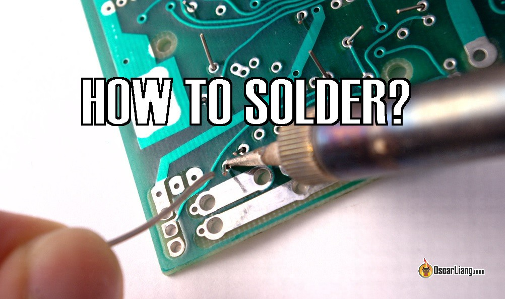 Soldering Guide for RC Quadcopter Beginners - Oscar Liang