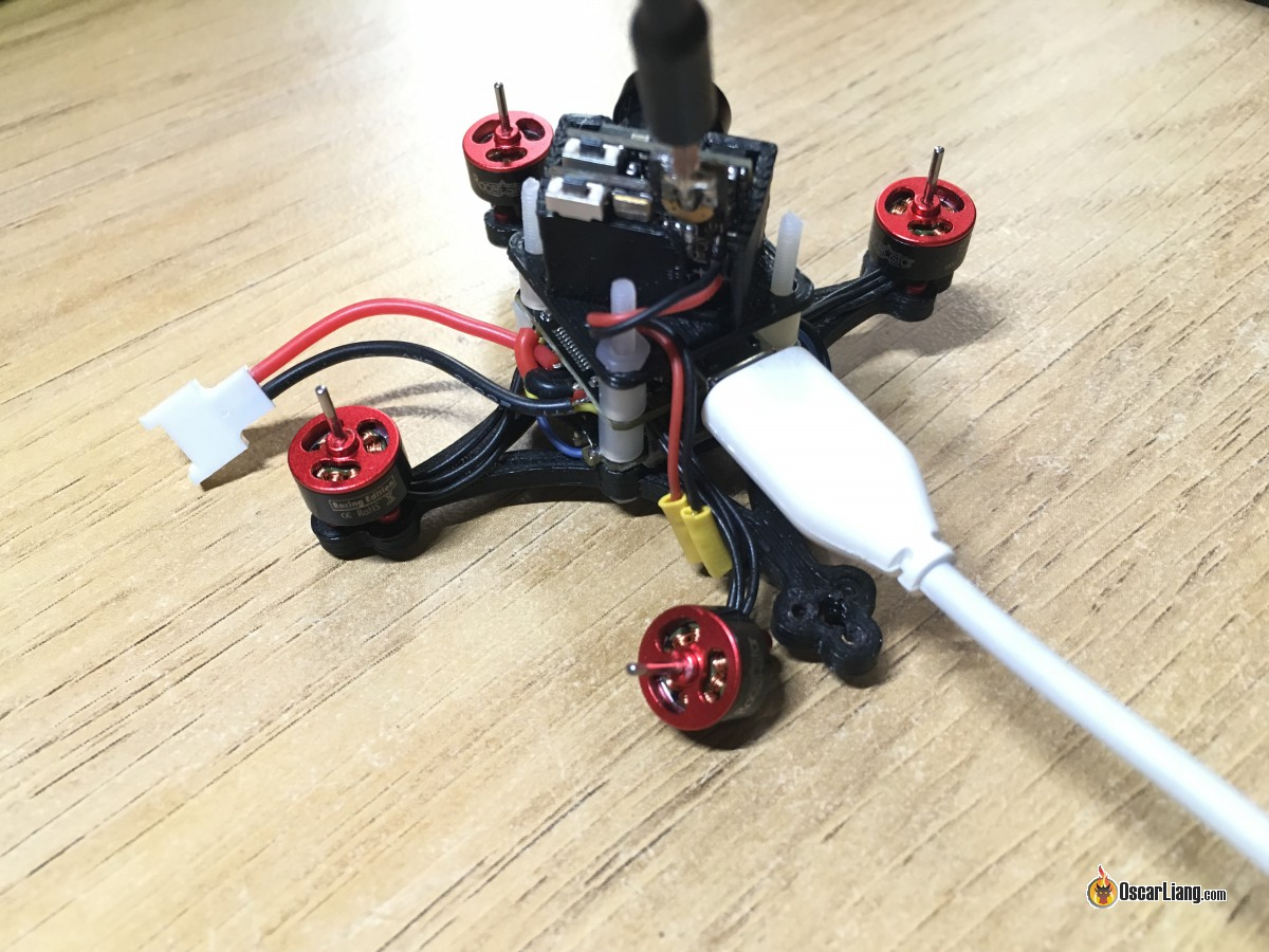 Angry Oskie - The Smallest Brushless Micro Quad Build - Oscar Liang